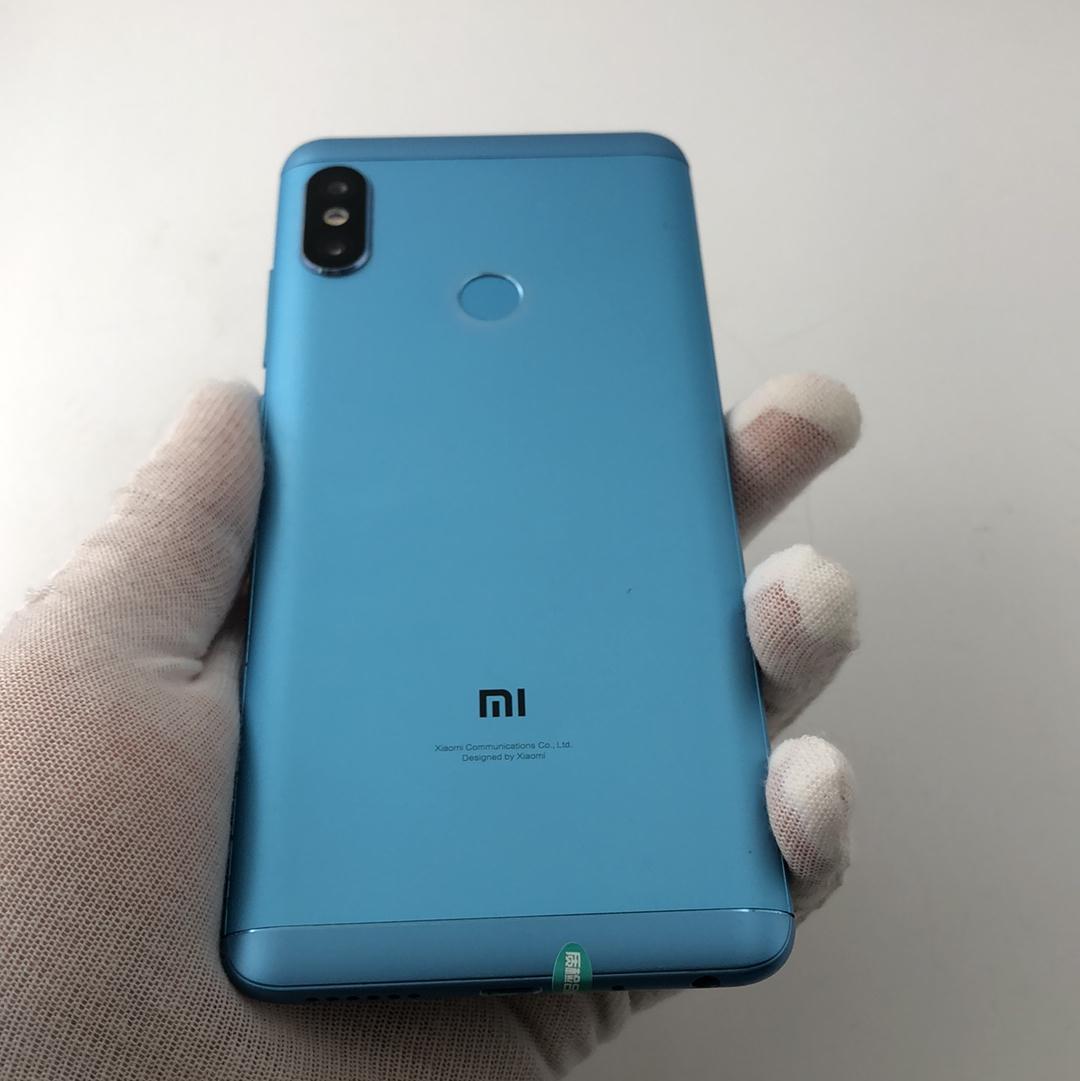 小米【红米Note5】4G全网通 蓝色 3G/32G 国行 8成新