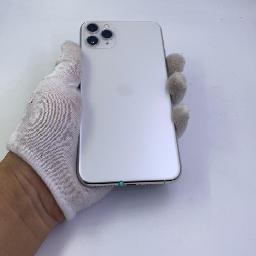 苹果【iPhone 11 Pro Max】4G全网通 银色 256G 国行 95新