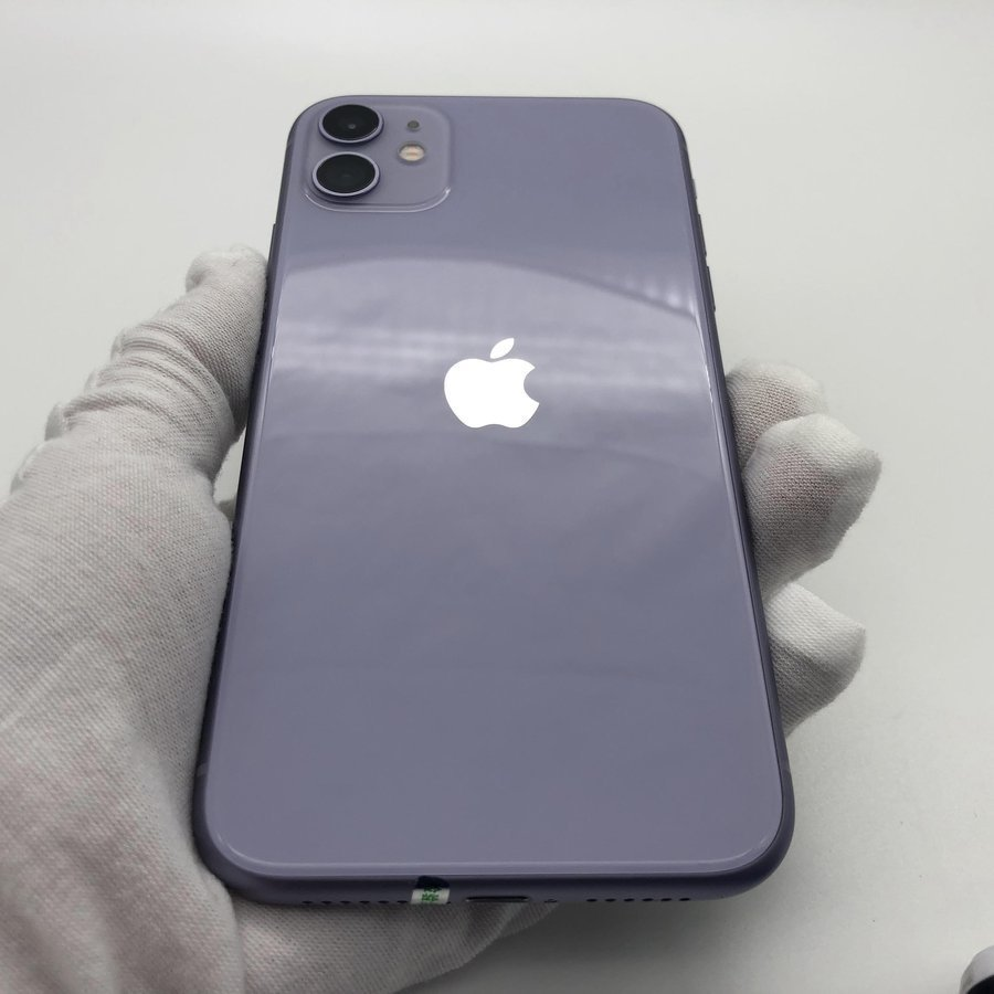 苹果【iPhone 11】全网通 紫色 128G 国行 95新