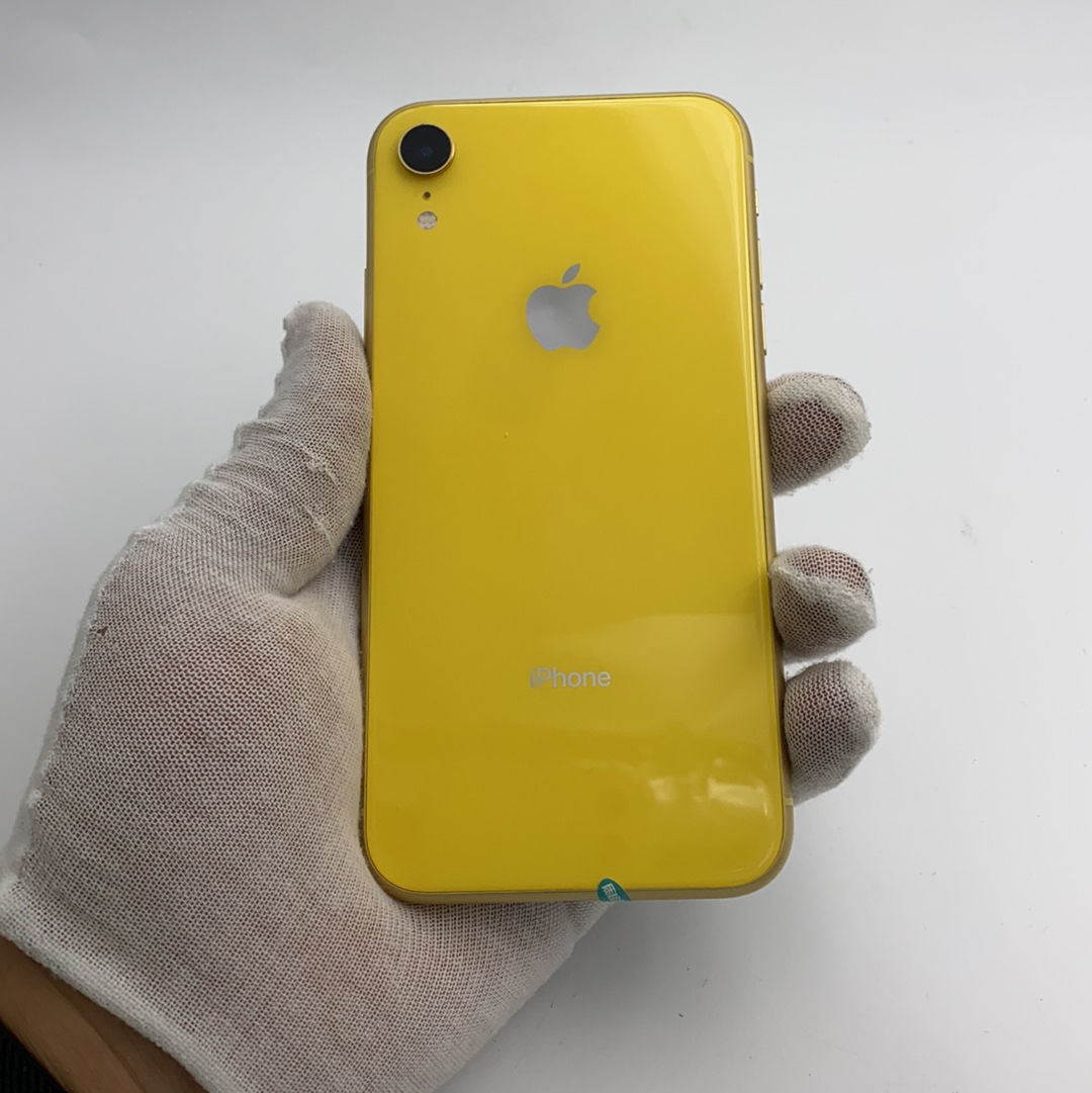 苹果【iPhone XR】4G全网通 黄色 64G 国行 9成新