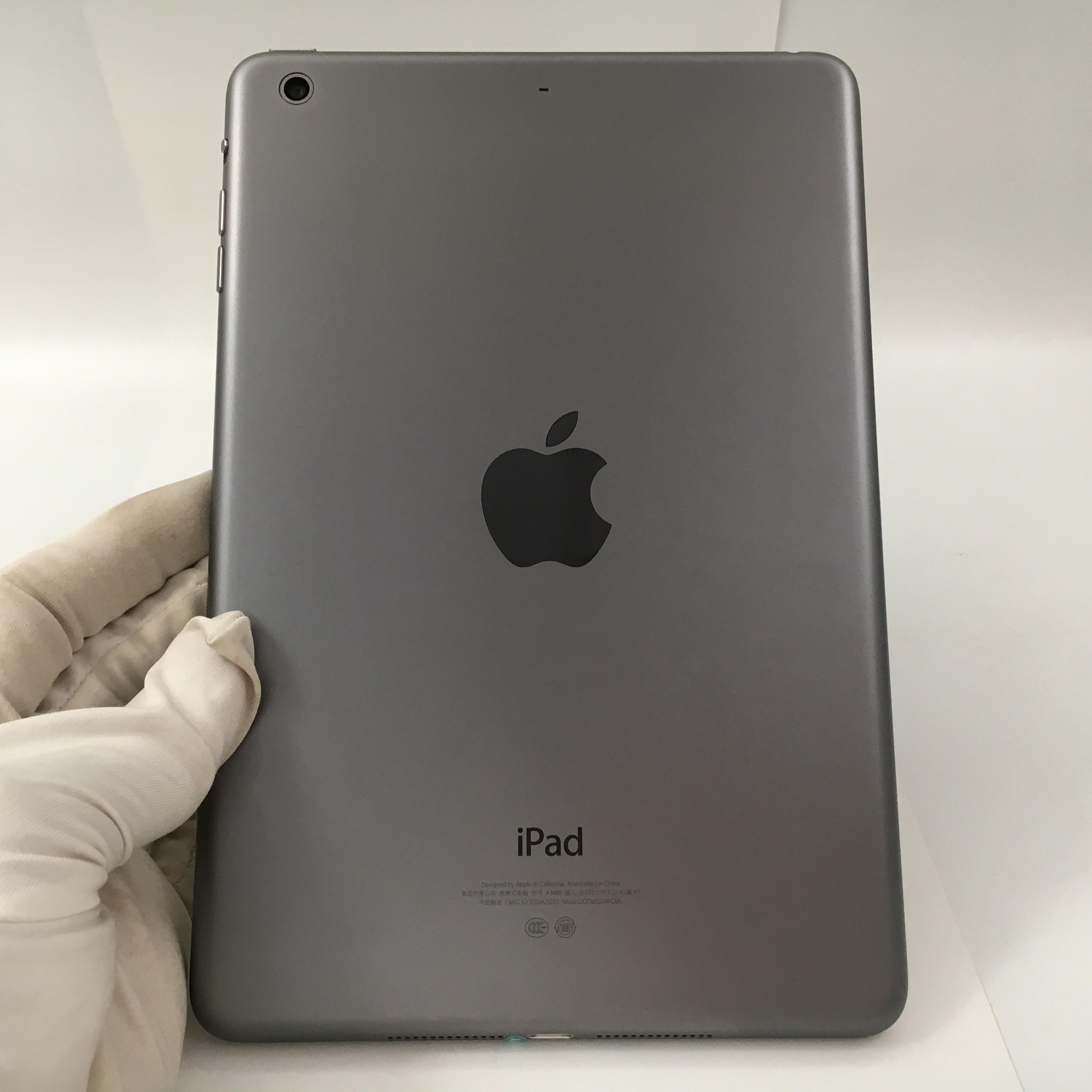 苹果【iPad Mini 2】WIFI版 深空灰 16G 国行 8成新