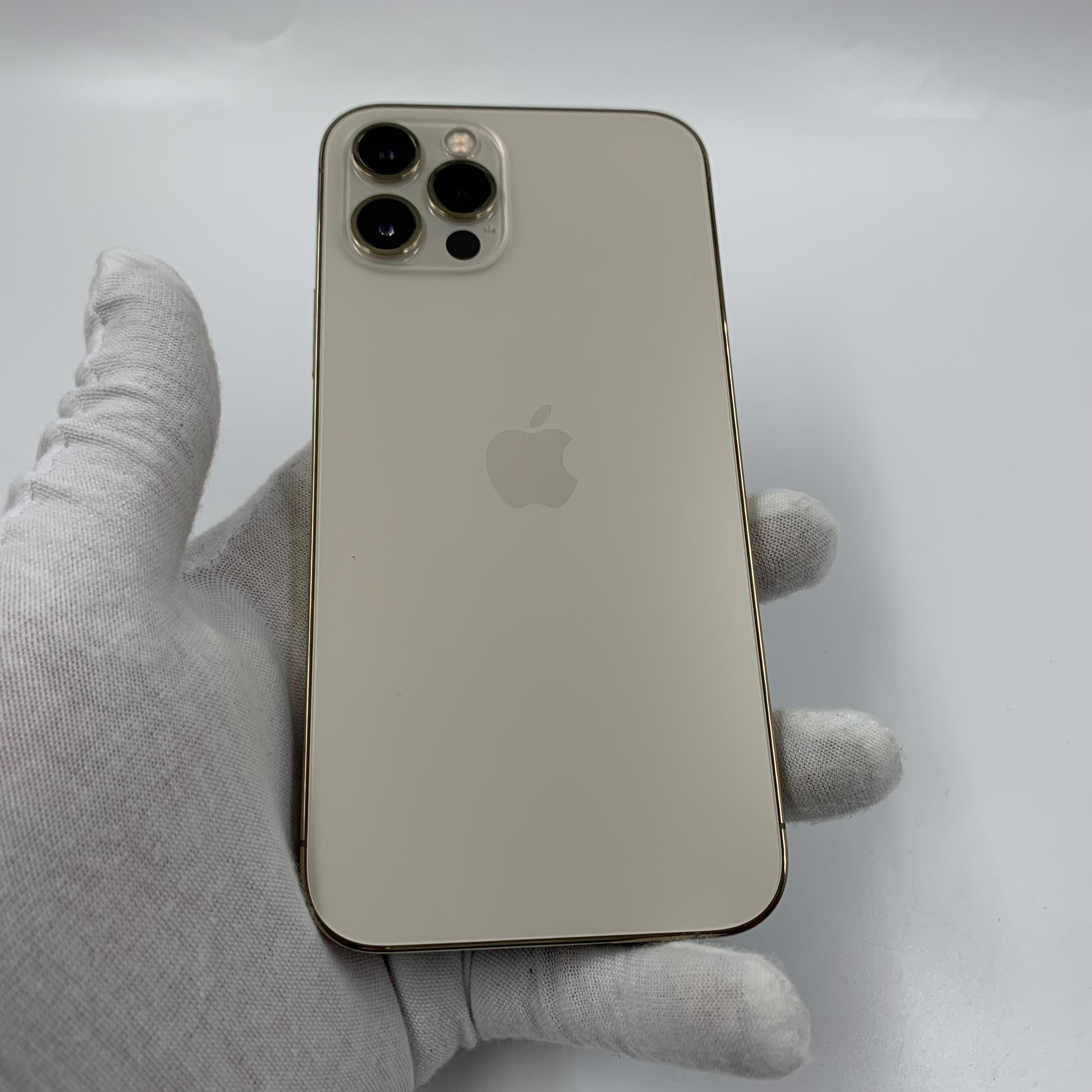 苹果【iPhone 12 Pro】5G全网通 金色 128G 国行 99新 真机实拍保修2022-01-27