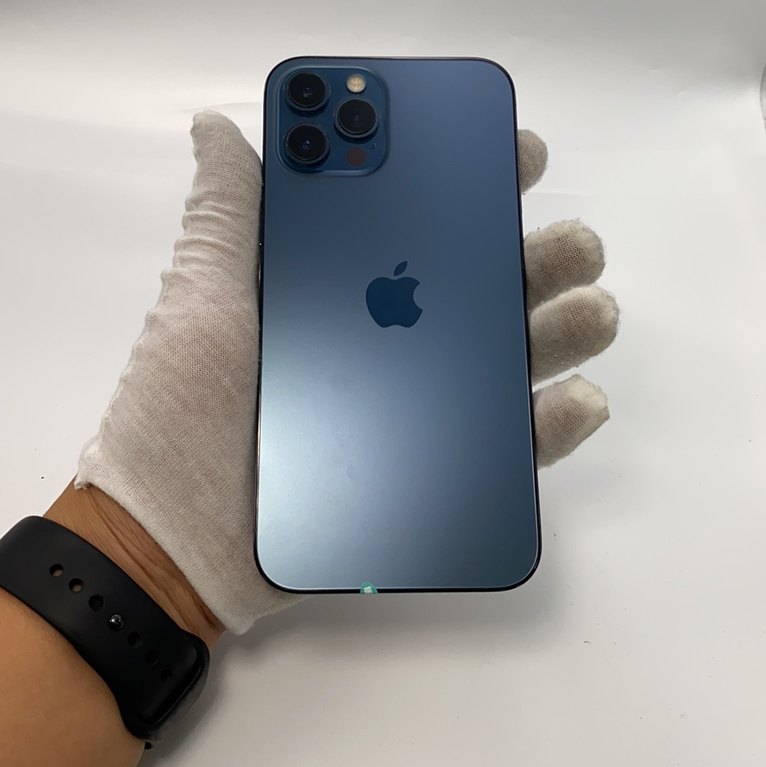 苹果【iPhone 12 Pro Max】5G全网通 海蓝色 512G 国行 9成新