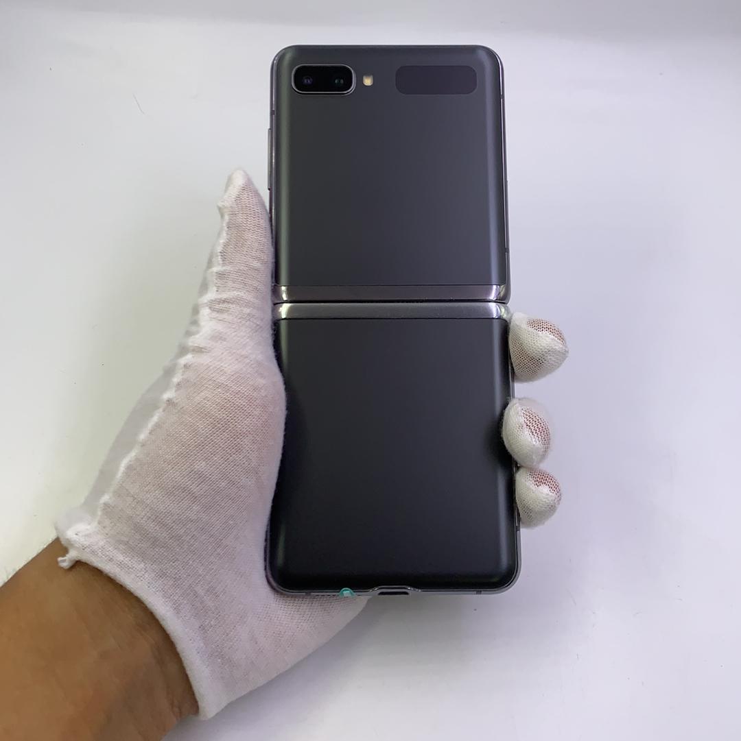 三星【Galaxy Z Flip 5G】5G全网通 冷山灰 8G/256G 国行 8成新