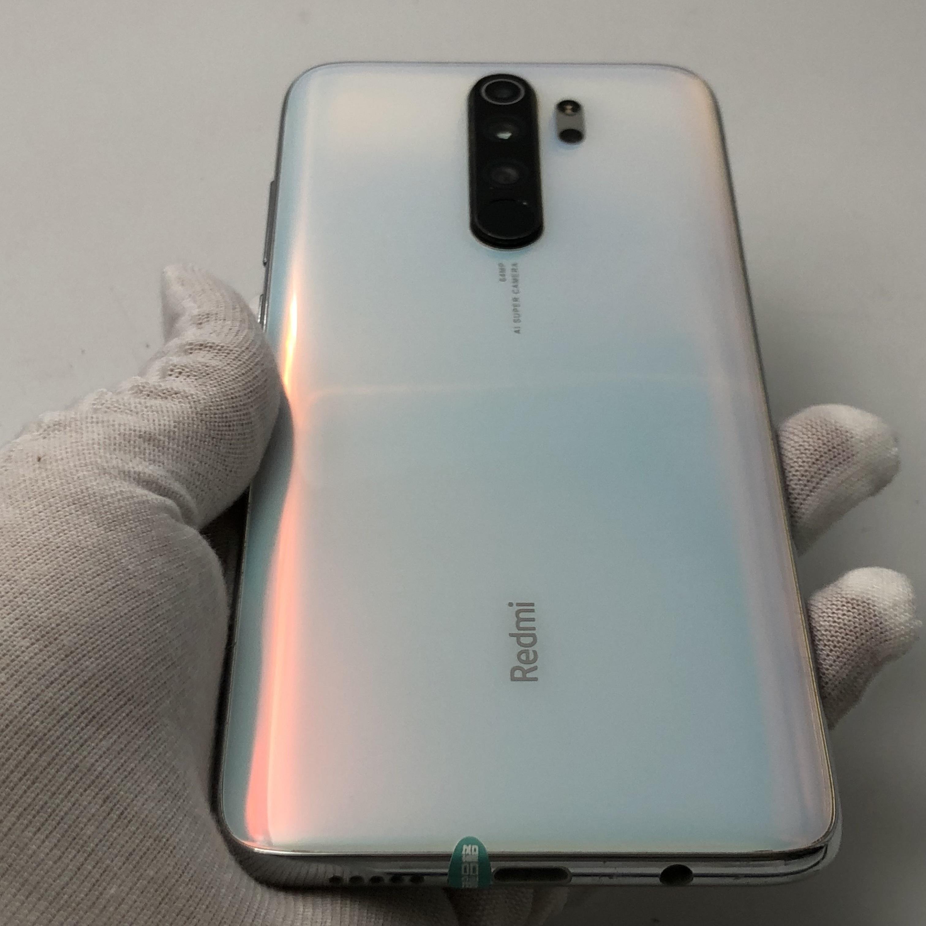 小米【Redmi Note 8 Pro】4G全网通 贝母白 6G/64G 国行 95新