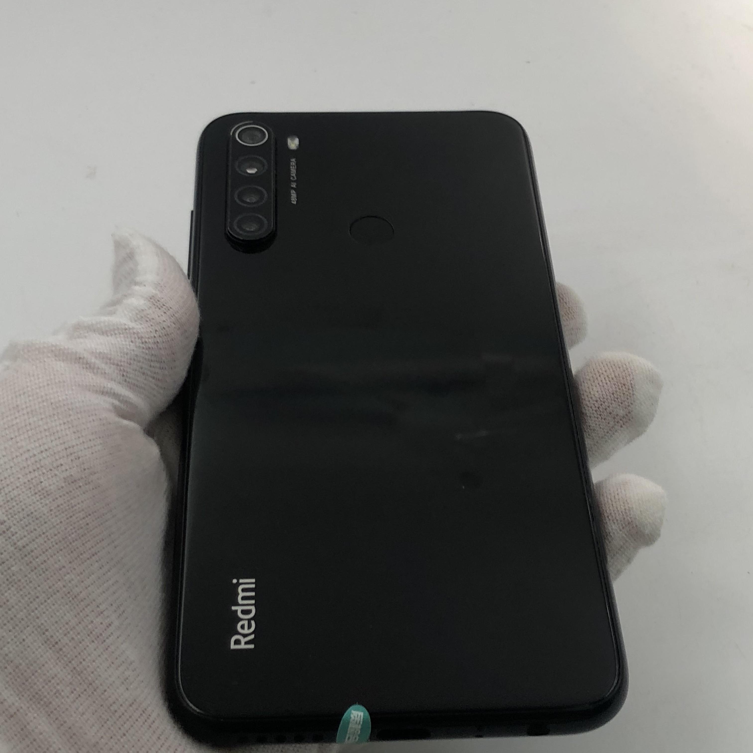 小米【Redmi Note 8】4G全网通 黑色 6G/128G 国行 9成新