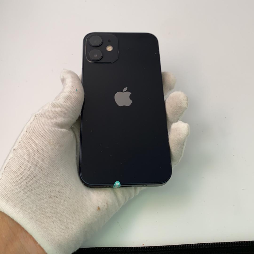 苹果【iPhone 12 mini】5G全网通 黑色 64G 国行 9成新