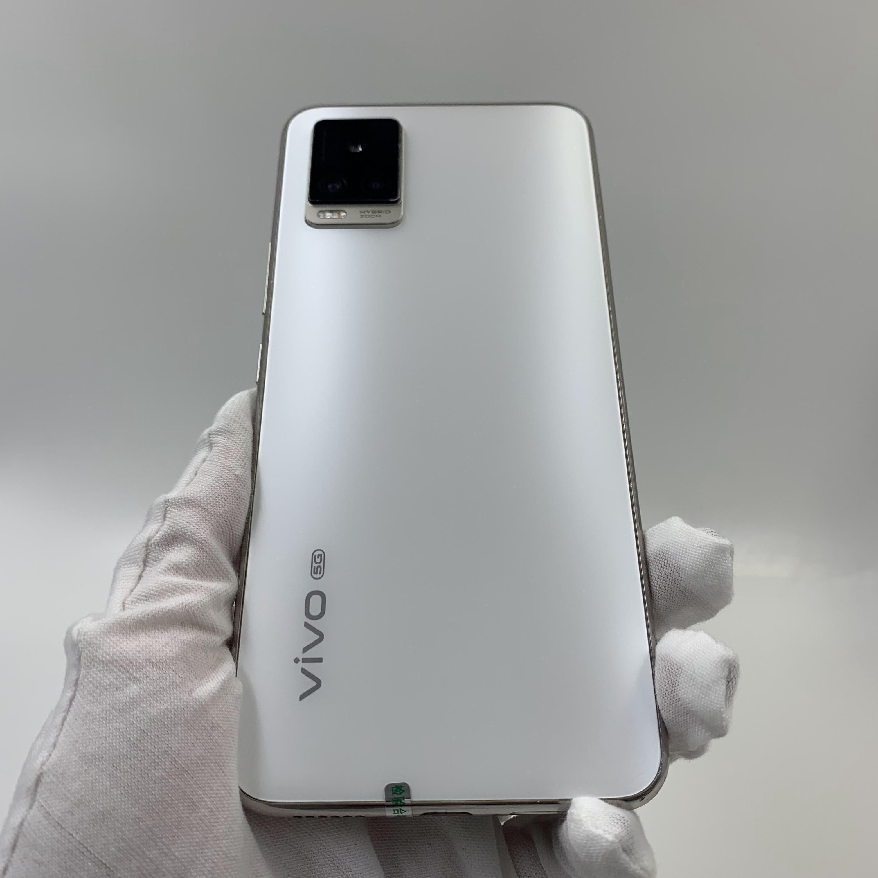 vivo【S7 5G】5G全网通 月光白 8G/128G 国行 9成新 真机实拍