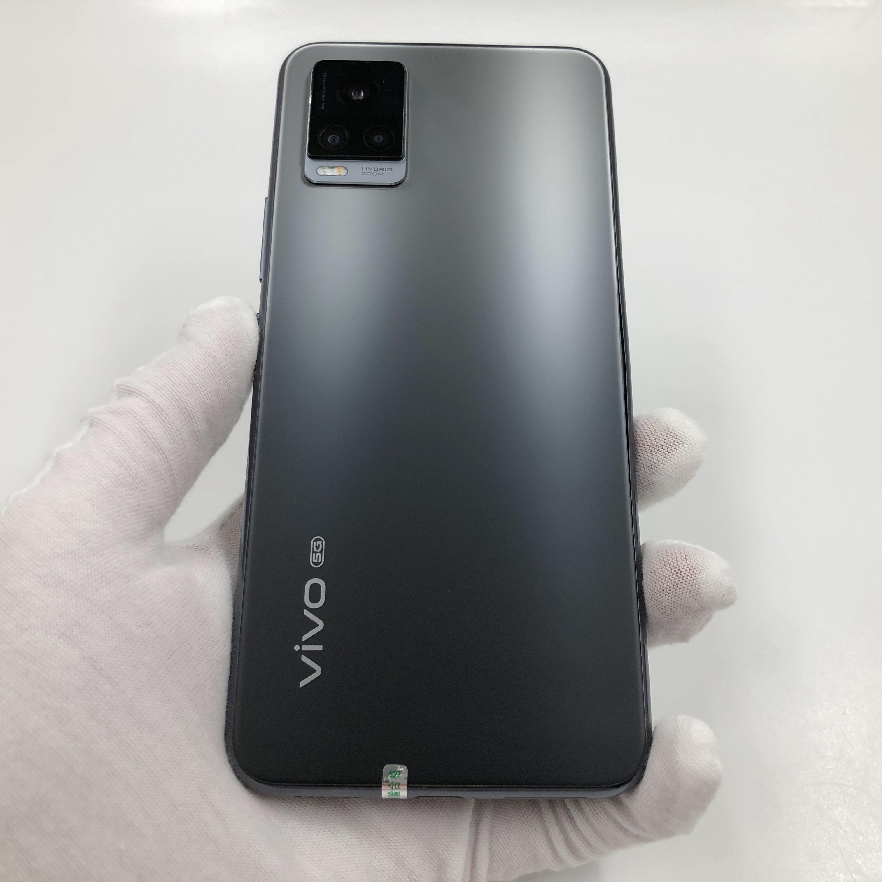 vivo【S7 5G】5G全网通 爵士黑 8G/128G 国行 95新 真机实拍