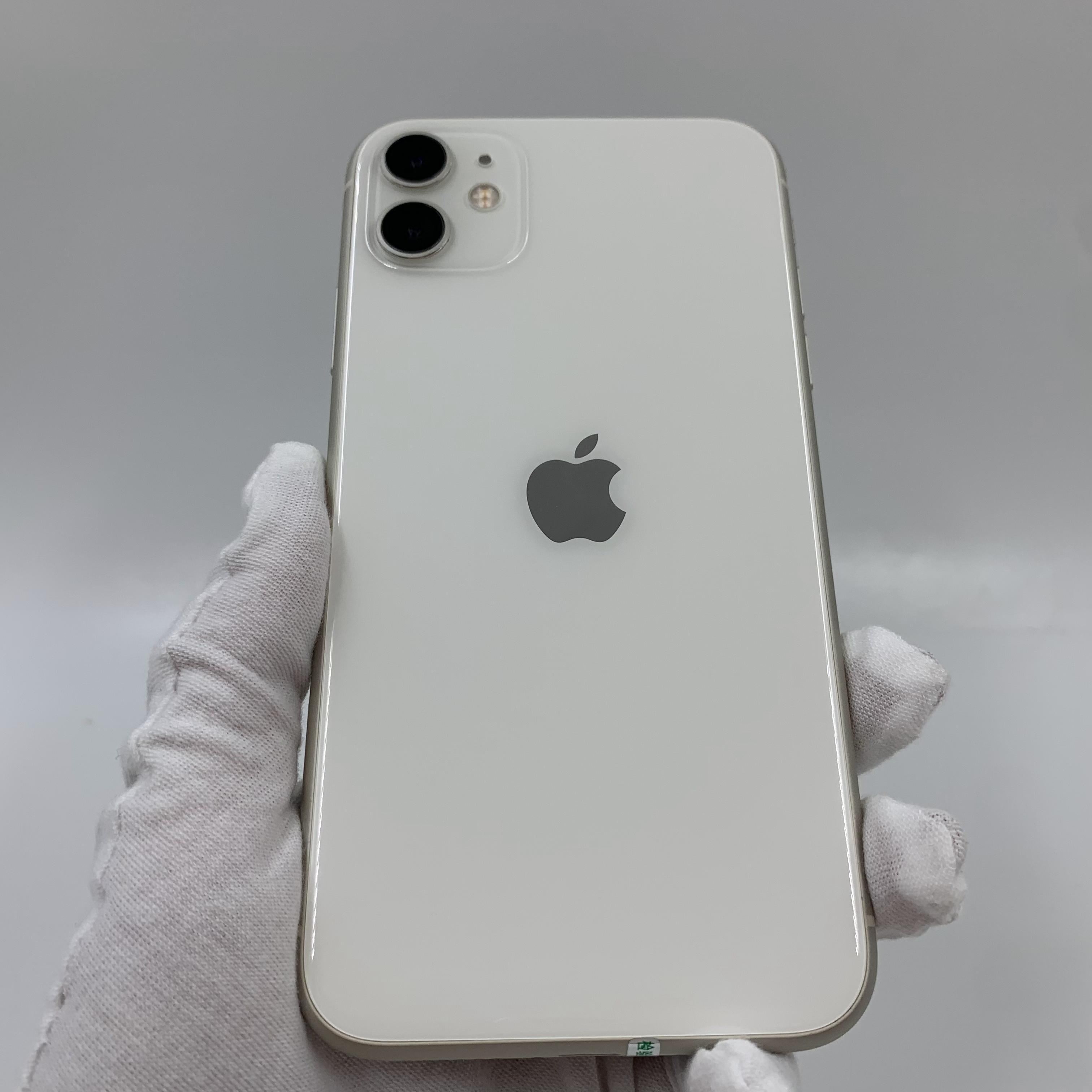 苹果【iPhone 11】4G全网通 白色 128G 国行 99新 真机实拍
