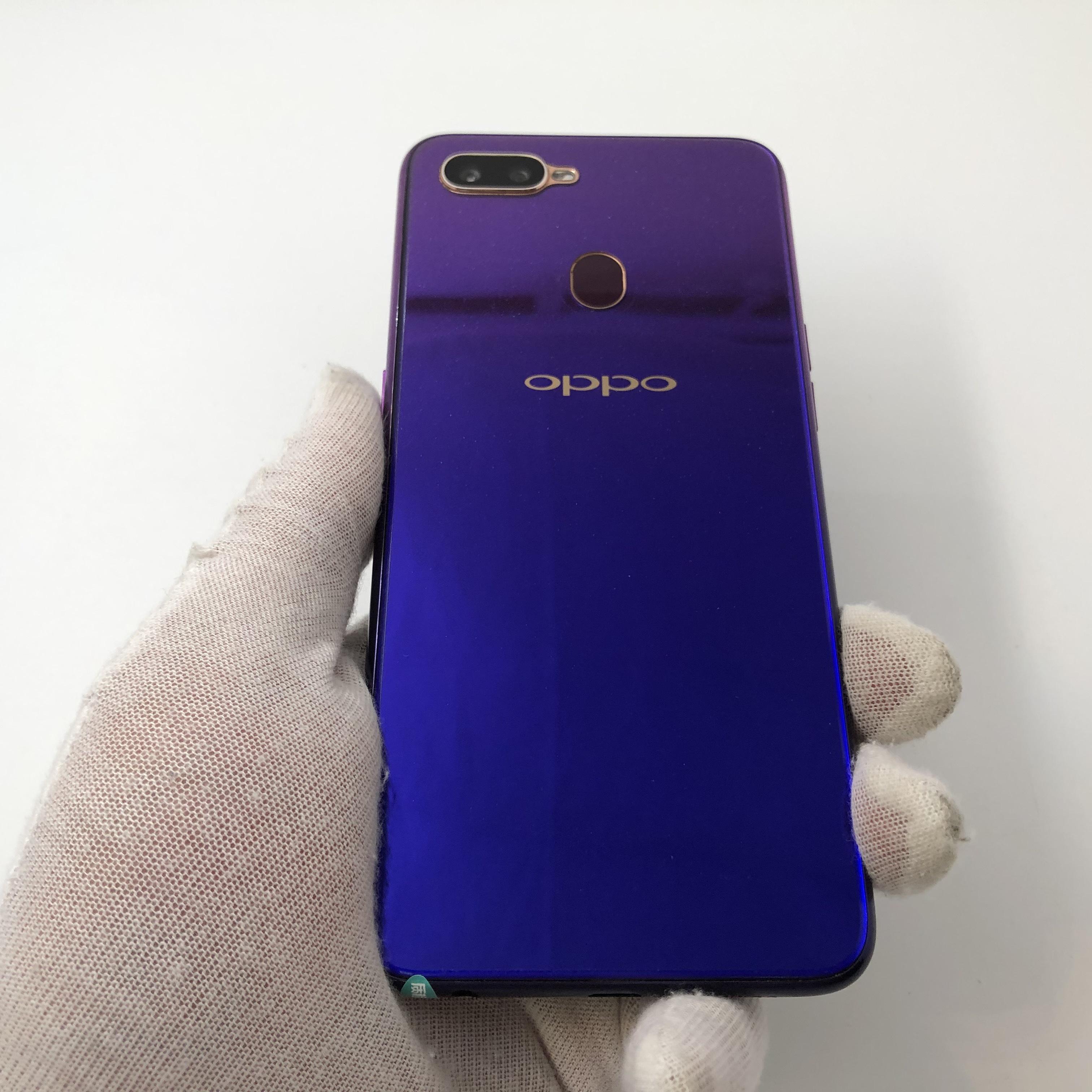oppo【A7x】全网通 紫色 4G/128G 国行 8成新